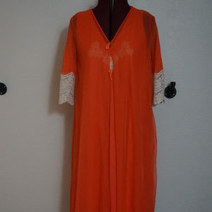 Gilead Double Chiffon Sissy Night Gown Peignoir